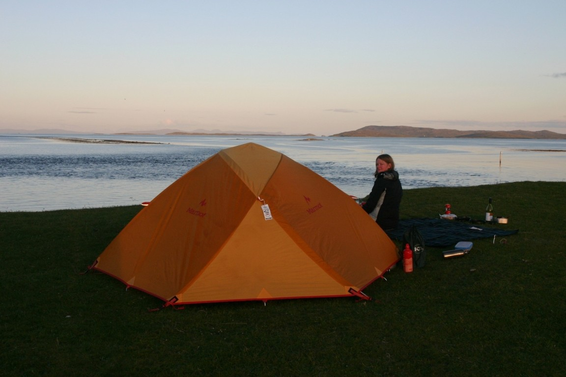 Camping On Berneray, Ten To Eleven!