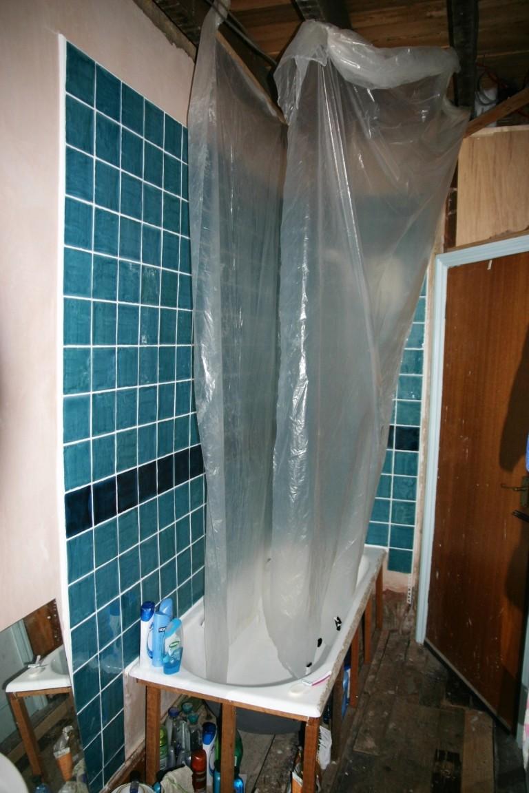 Temporary Shower Curtain Sinister CurtainChina
