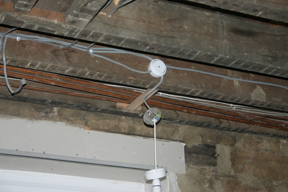 Pipes No Longer Sag Below Ceiling