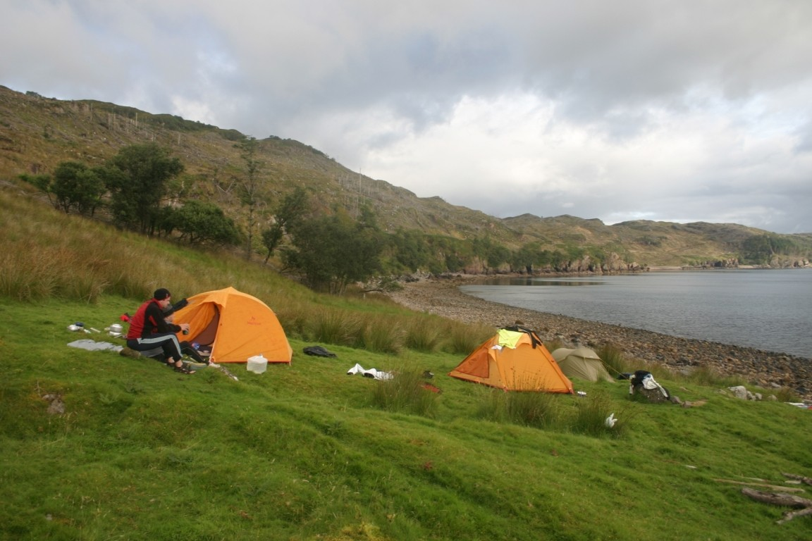 Wild Camp On Raasay