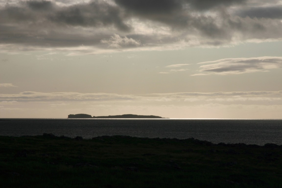 Tomorrow's Target, Staffa, From Ulva Campsite