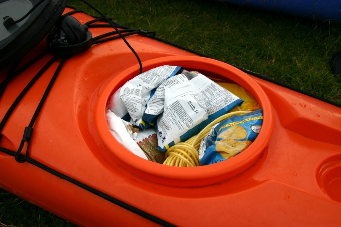 You Can Get A Lot Of Crisps In A Kayak