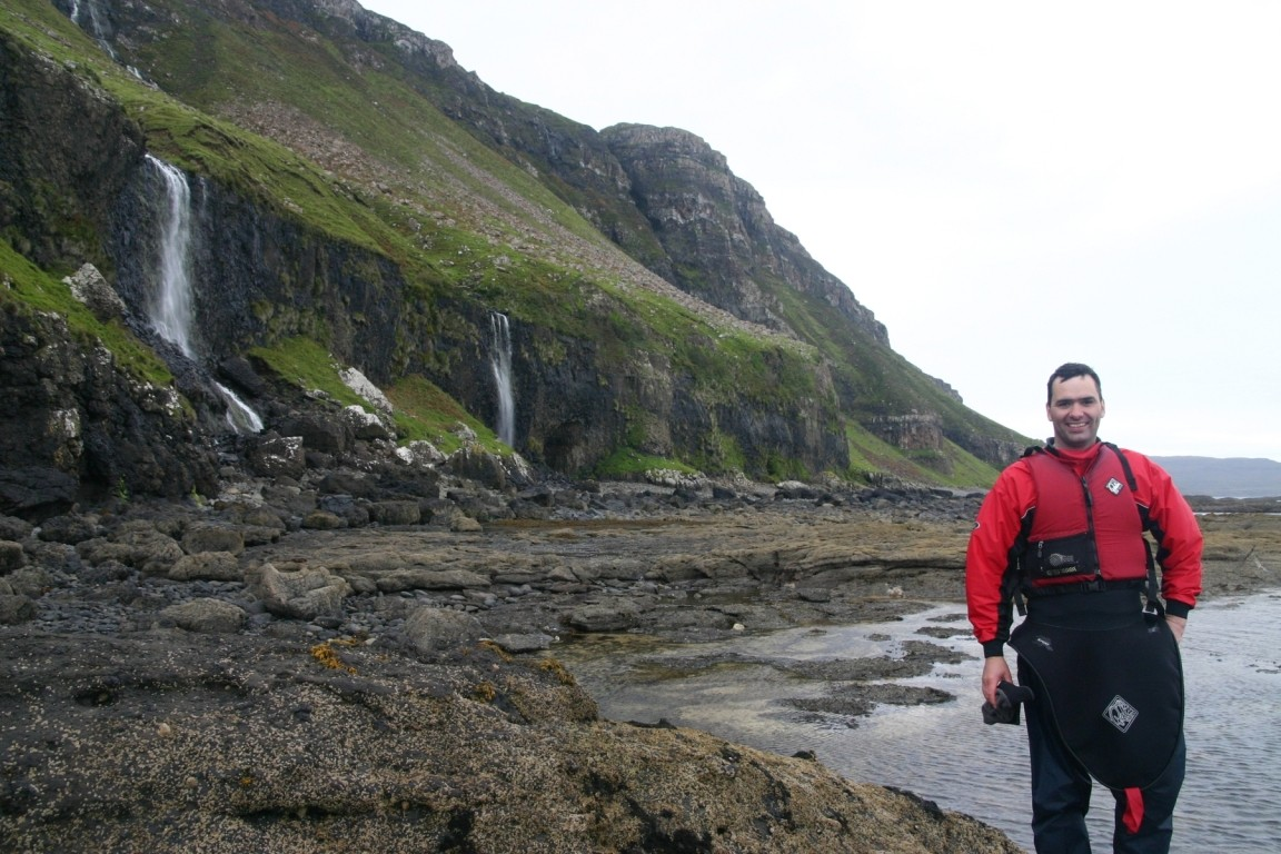 Richard In Search Of McCulloch's (Fossilised) Tree, Mull