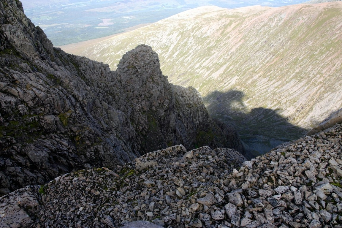 Tower Ridge, Ben Nevis - Simon And Chris Are On There Somewhere
