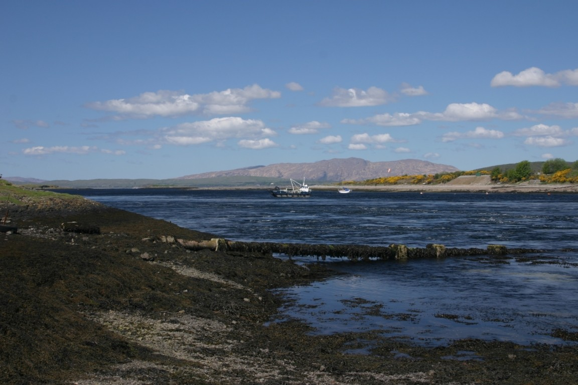Tide Race At Connel