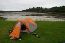 First Wildcamp On Eigg, Near Galmisdale