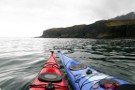 Kayaking Up The West Coast Of Eigg