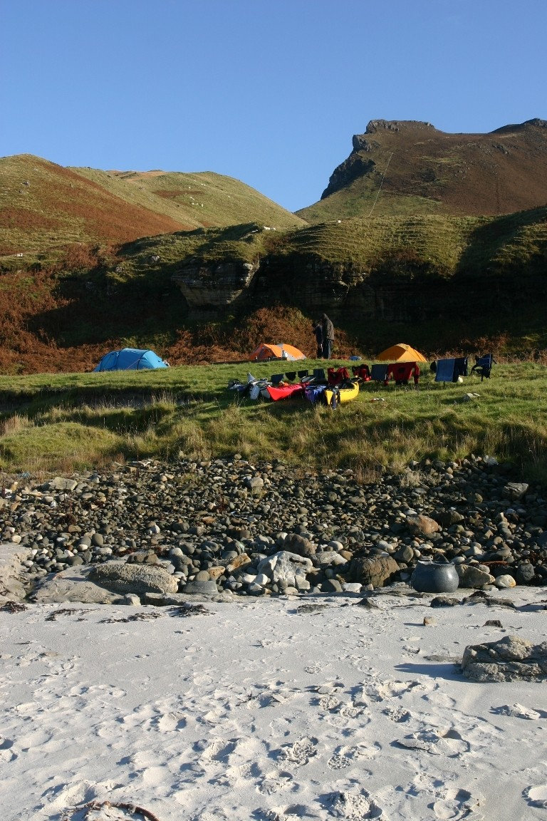 Campsite Above Singing Sands