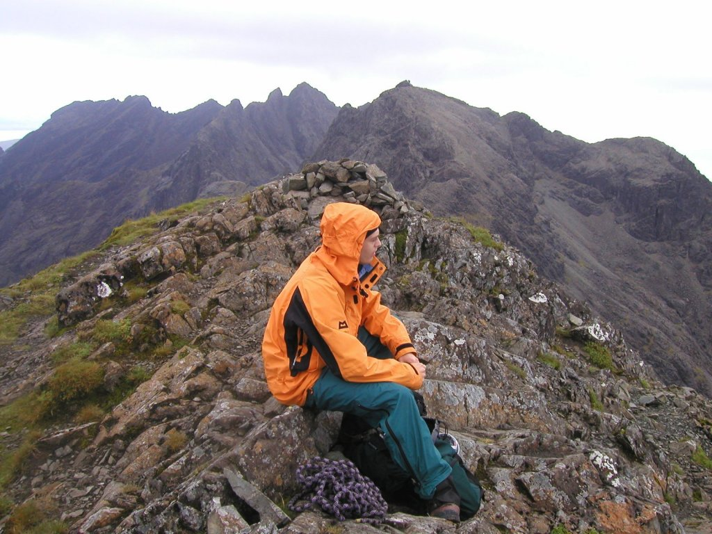 Nick Somewhere On Cuillin Ridge