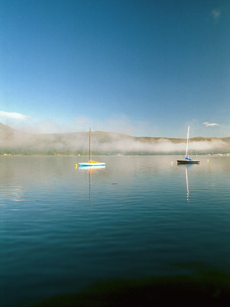 Boats On Loch Linnhe Morning