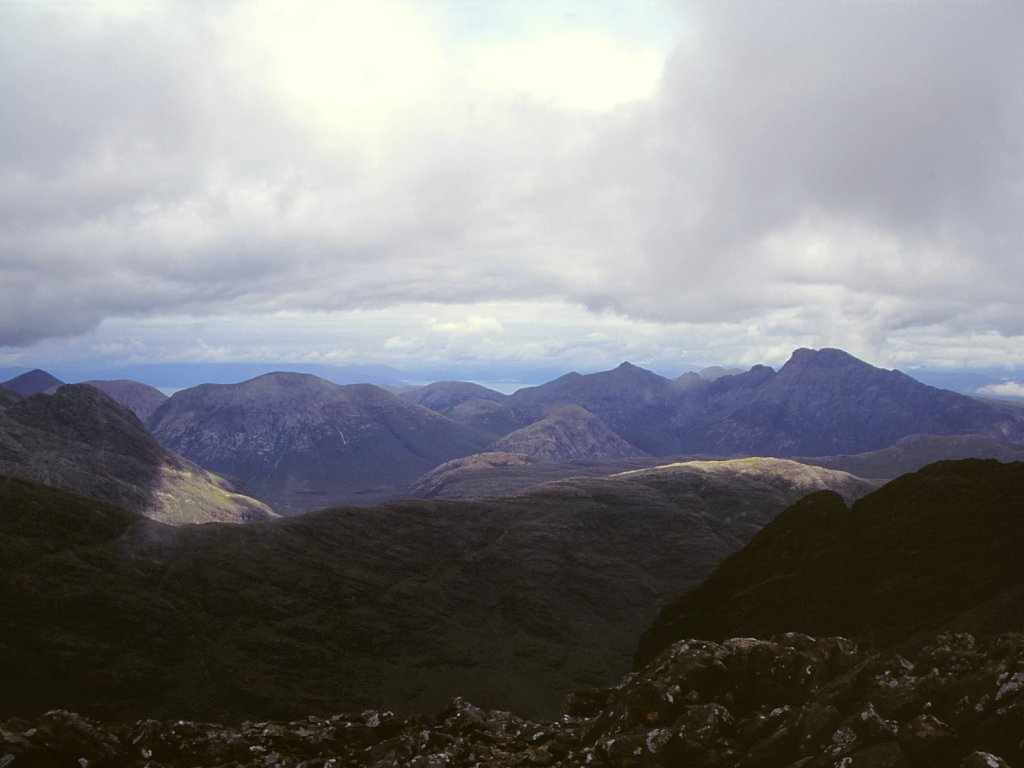 Between An Stac and Sgurr Mhic Choinnich