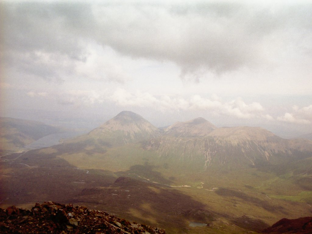 Sligachan Far Left From Near Sgurr a' Bhasteir