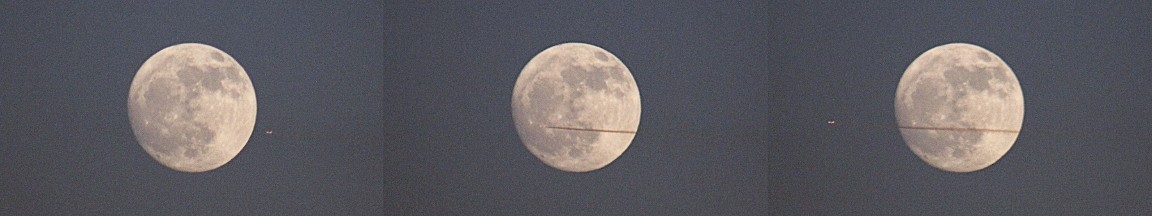 Plane And Moon Sequence
