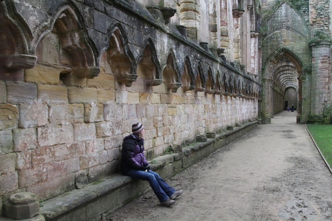 Debbie, Fountains Abbey