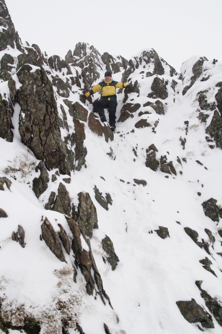 Will On Striding Edge