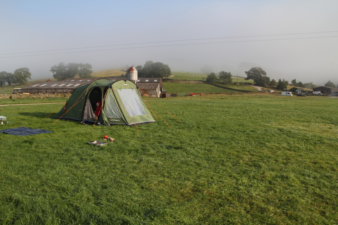 Morning Fog, Howarth Farm Campsite, Appletreewick