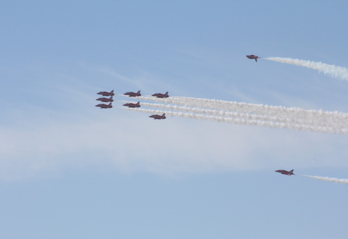 Red Arrows, Blackpool