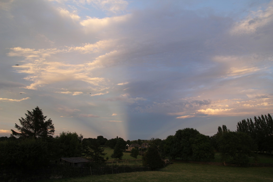 Anticrepuscular Rays, Guiseley