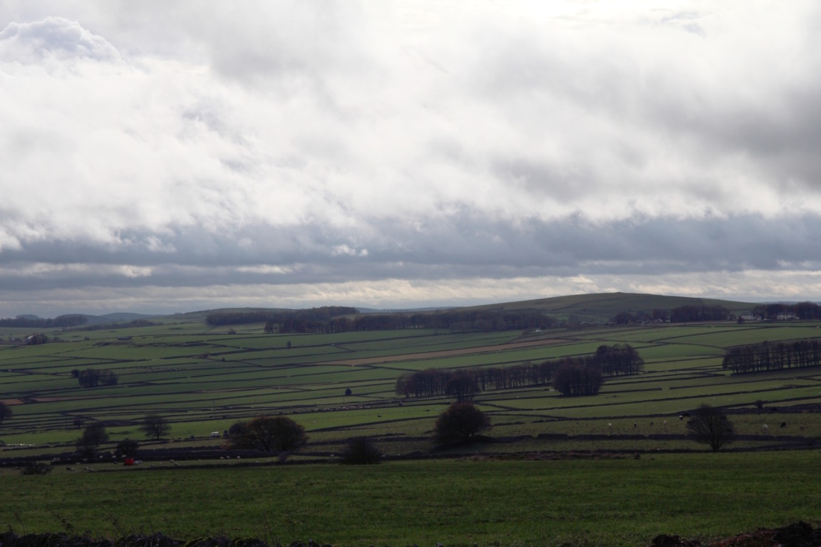 View from Taddington Moor, Derbyshire