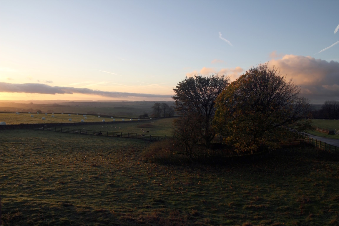 View from Bedroom, Moor Grange Farm, Taddington Moor, Derbyshire