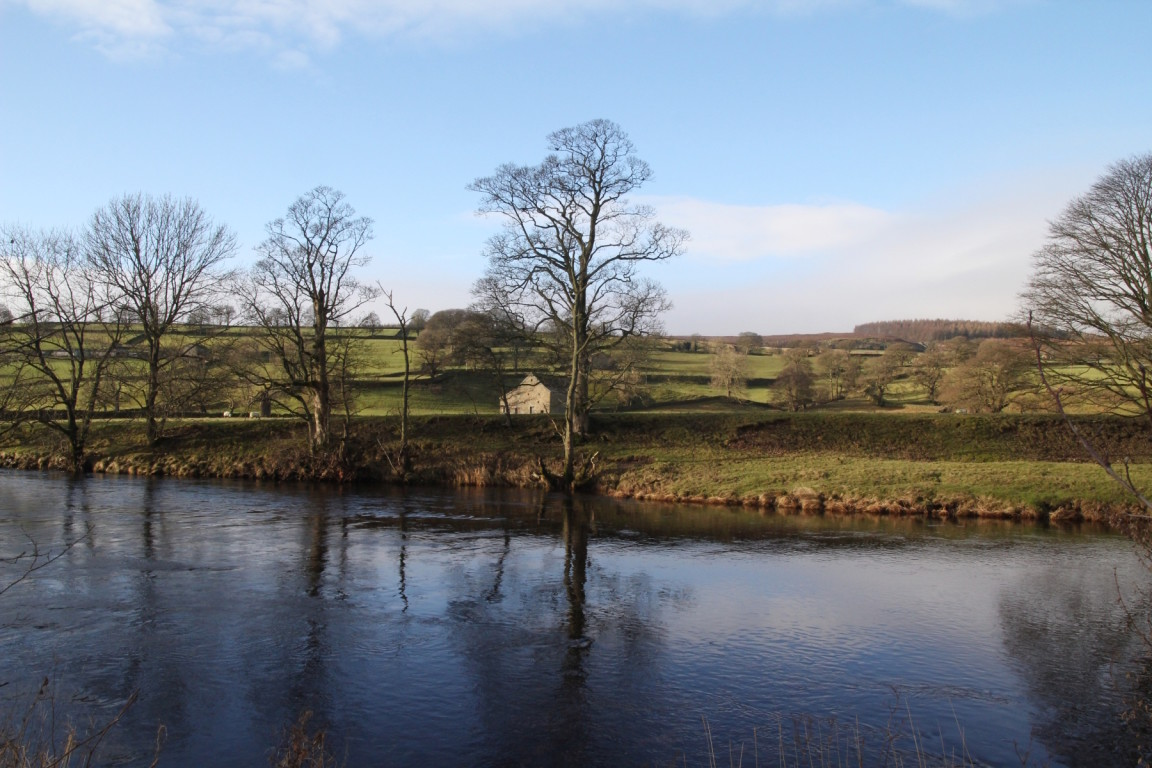 River Wharfe Between Appletreewick and Bolton Abbey