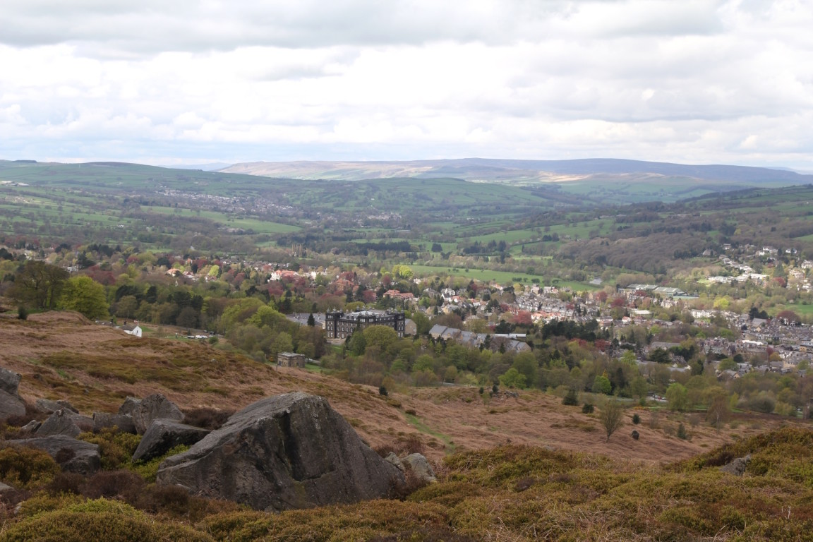 Ilkley from Ilkley Moor