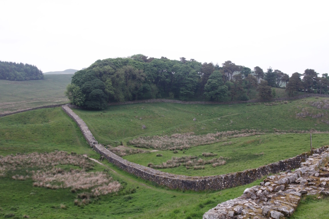 Hadrian's Wall, Housesteads Roman Fort, Northumberland