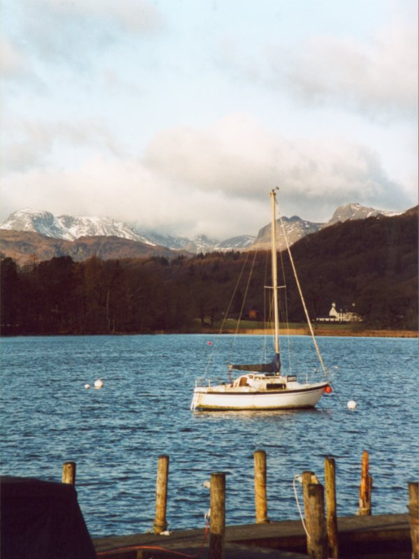 Boat on Lake Windermere