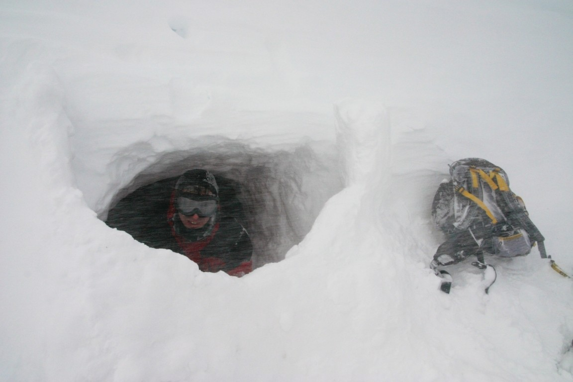 Will In Our Snow Cave