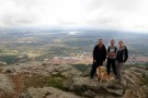 Francis, Dora, Pete And Debbie On Mountain Above El Escorial