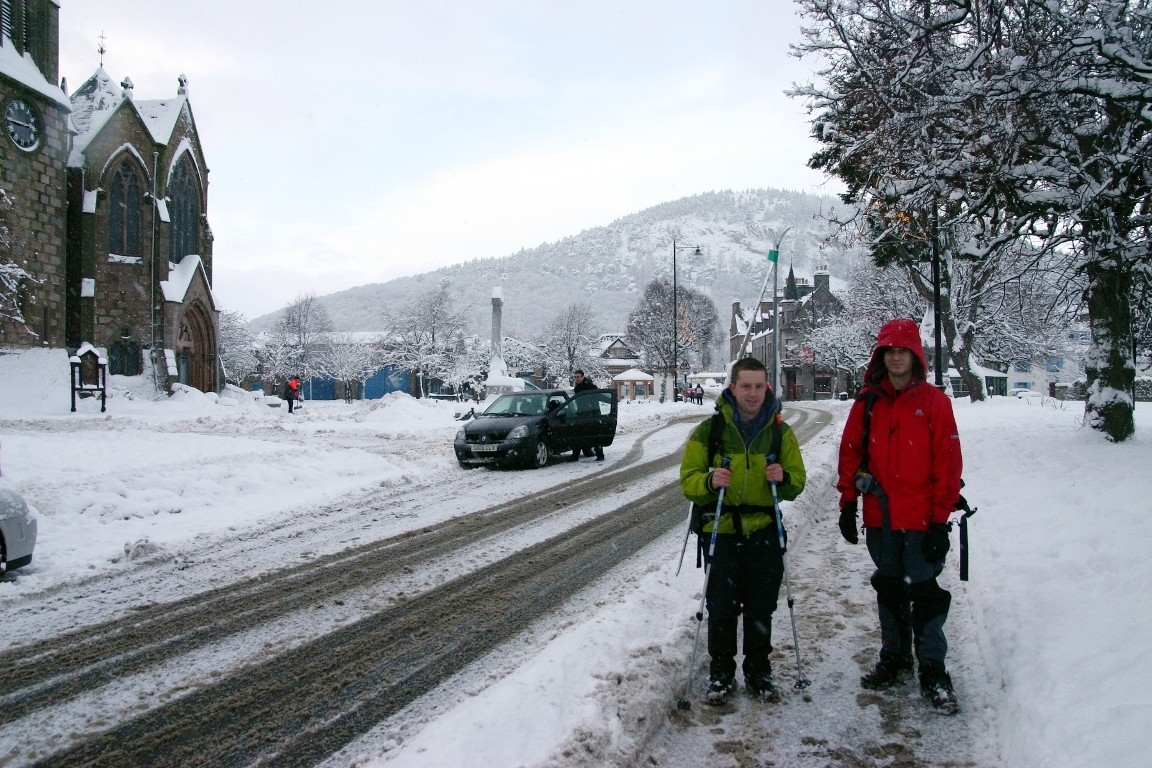 Simon And Nick In Ballater