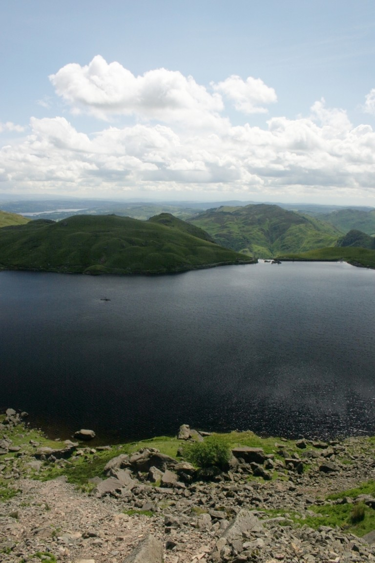 Stickle Tarn From Pavey Ark