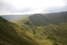 On Fan Y Big Looking At Bwlch Ar Y Fan