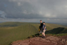 Pete & Nic On Pen Y Fan