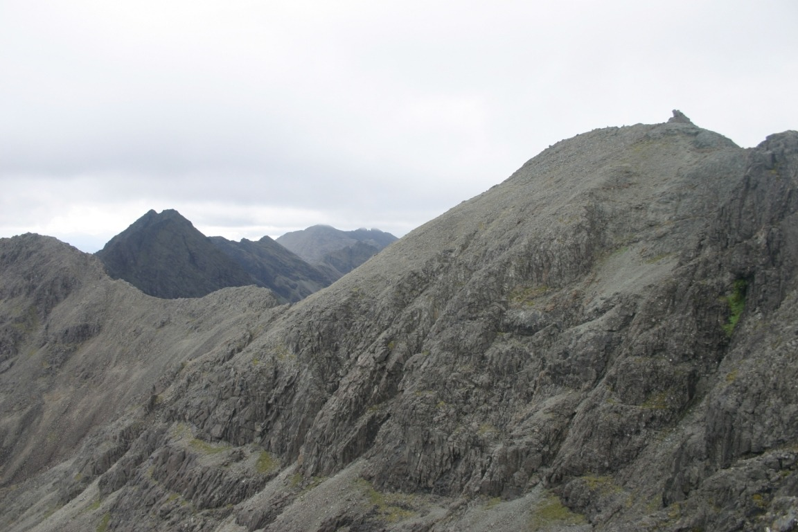 Cuillin Ridge And Inaccessible Pinnacle