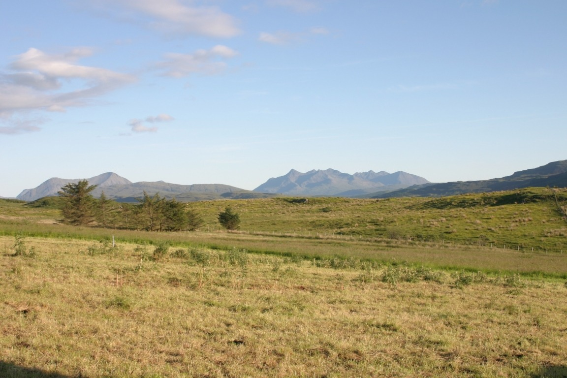 Cuillins From Torvaig Campsite