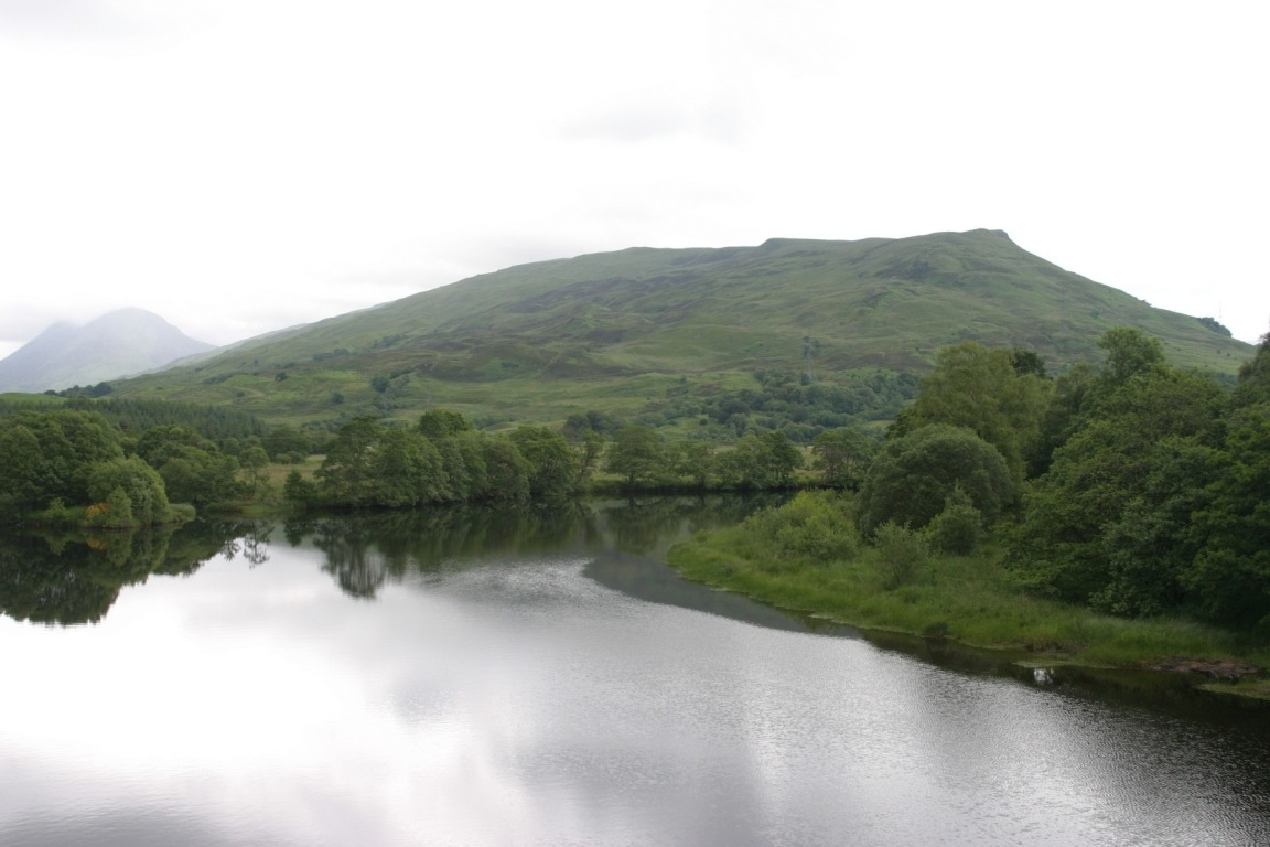River Going Into Loch Awe