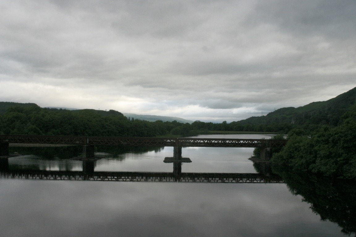 Bridge On River Going Into Loch Awe