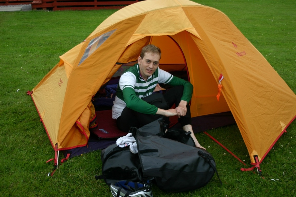 Nick At Lochgilphead Campsite