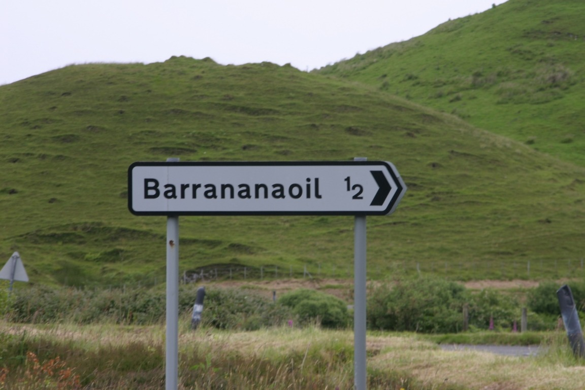 Sign To Barrananaoil