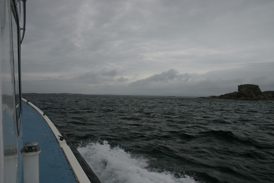 On The Boat To Lunga