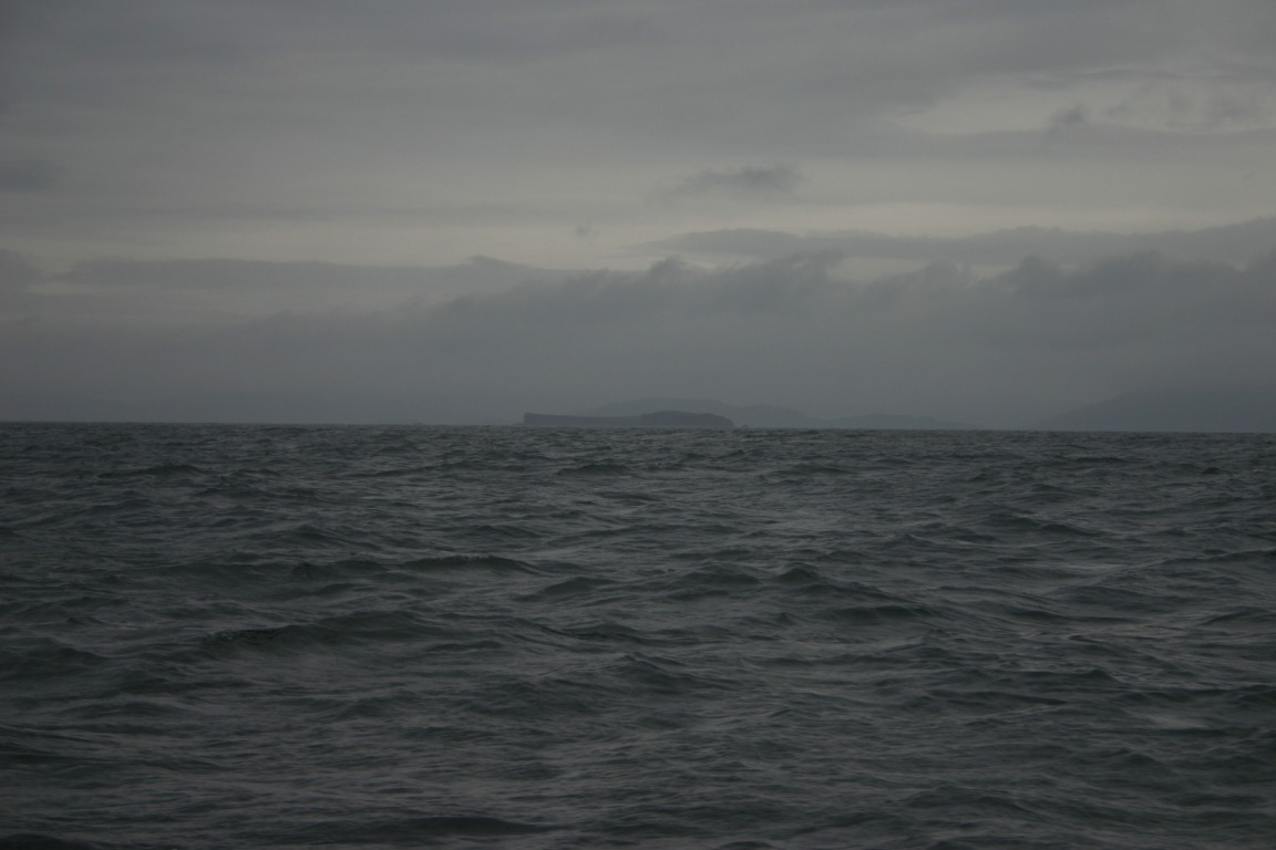 Staffa In The Distance