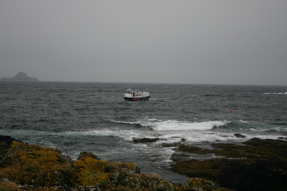 The Boat Off Lunga