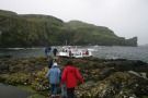 Boarding The Boat On Lunga