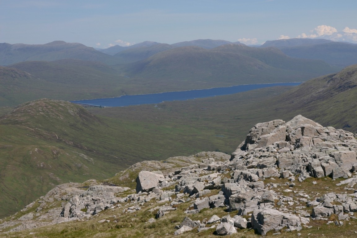 Blackwater Reservoir From Stob Coire Raineach