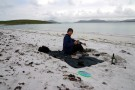 Barbecue On Beach, Berneray